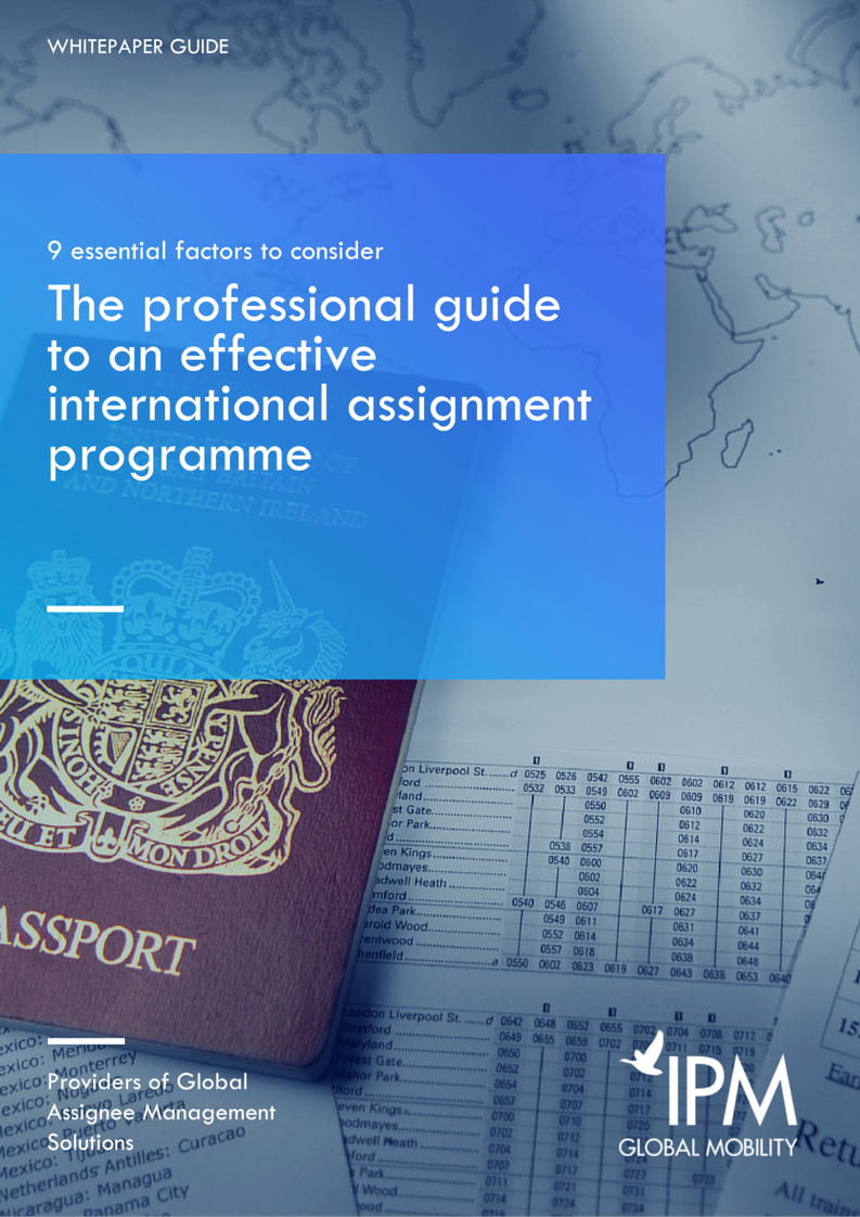 International Assignment Programme whitepaper